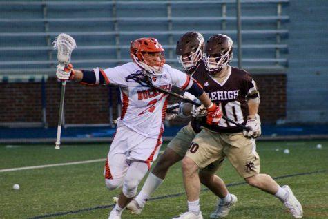 Men's lacrosse secures share of regular season Patriot League title, falls in quarterfinal game