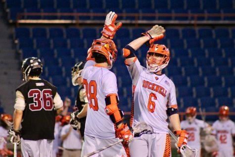 Men's lacrosse records fifth consecutive win