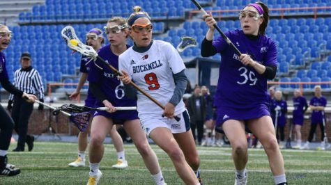 Comeback falls short, women's lacrosse drops 12-11 loss to Holy Cross
