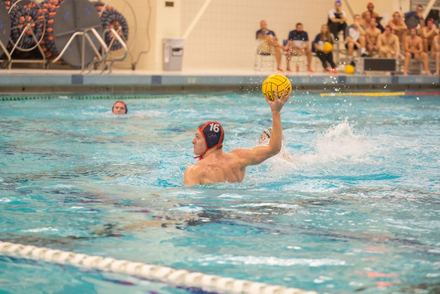 Men's water polo goes perfect 4-0 in Bucknell Invitational