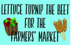 Lettuce turnip the beet for the farmers' market