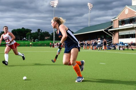 Field hockey caps regular season with two wins