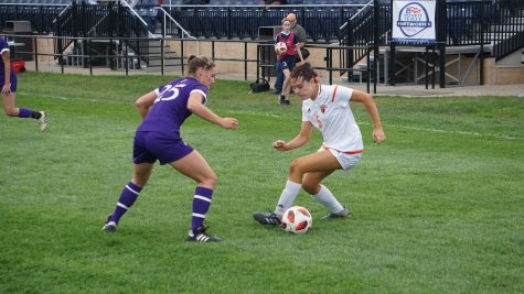 Women's soccer falls in conference opener