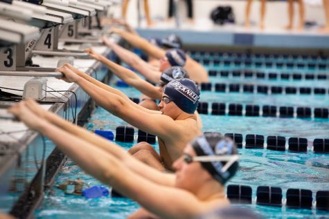 Swimming and diving shines in second weekend of competition