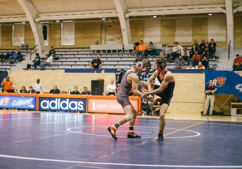 Wrestling to take on three-time defending national champions Penn State