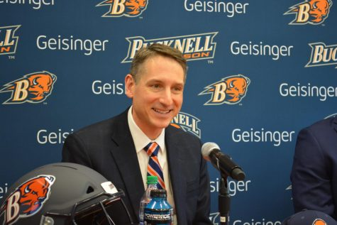 Bison Athletics introduces new football coach, David Cecchini