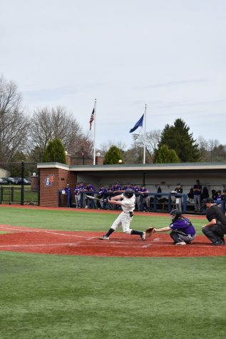 Baseball gets swept in three-game series against Holy Cross
