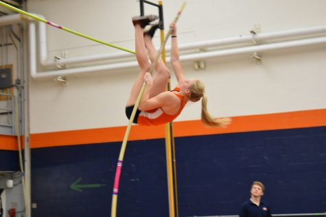 Men and women's track teams claim first place in Bucknell Team Challenge