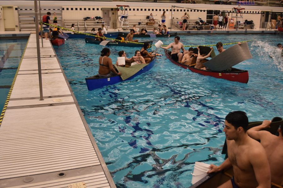 Students participate in friendly competition at Canoe Battleship