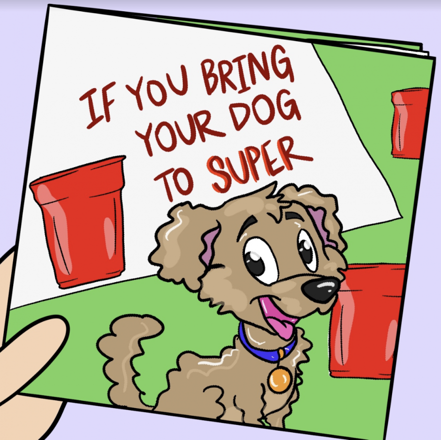 """Children's author writes """"If You Bring Your Dog to Super"""" following University visit"""