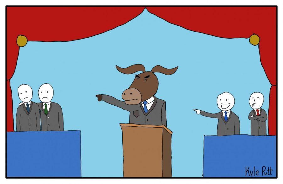 democratic debate color