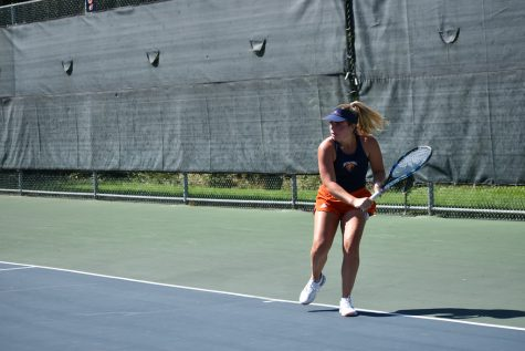 Women's tennis earns doubles Championship in second Fall Invitational