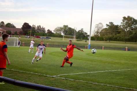Men's soccer beats Saint Francis, comeback falls short against Drexel