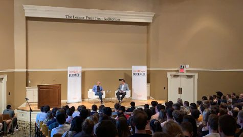 Marc Lore '93 returns to campus for 'Innovate Bucknell'
