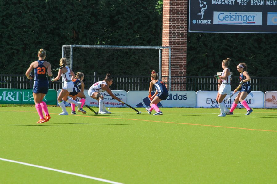 Field hockey cashes in on penalty corners in 6-1 victory