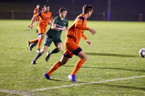 Men's soccer falls to Colgate in first Patriot League loss
