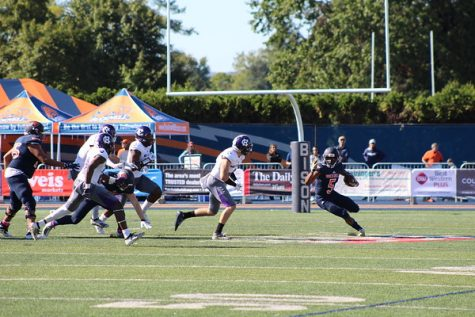 Football comes up just short against Holy Cross