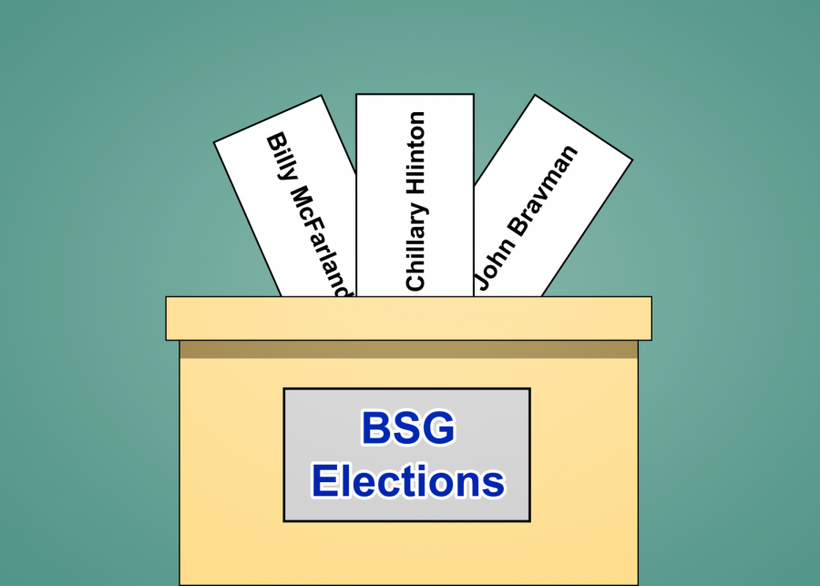BSG election write-ins alarm student officials
