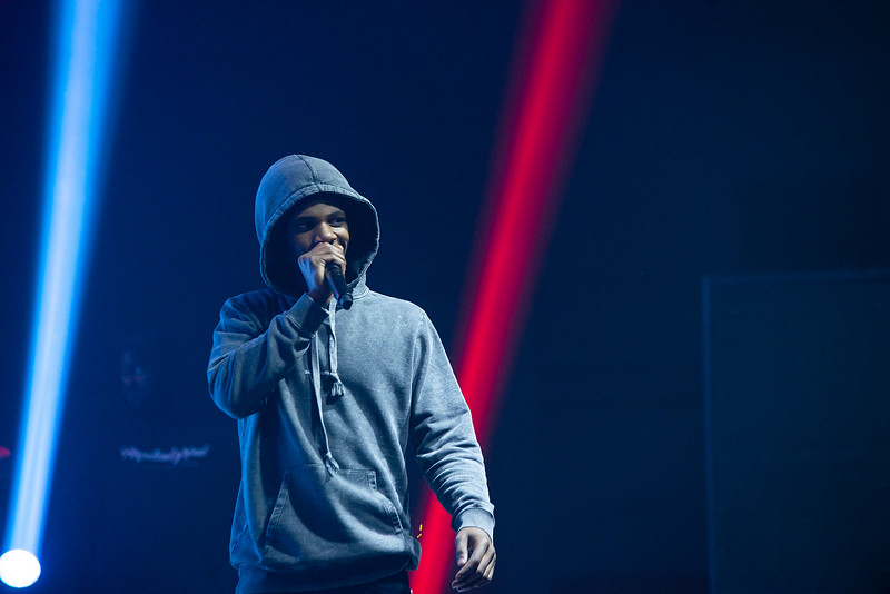 A Boogie Wit da Hoodie and Two Friends perform at 2019 Fall Concert