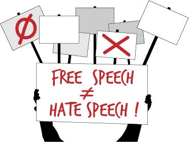 Hey Chuck, what does free speech mean, anyway?