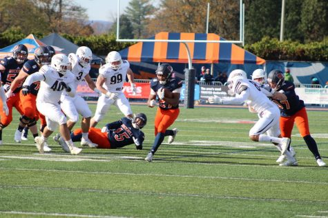 Football denied upset over No. 9 Fordham with 30-27 overtime loss