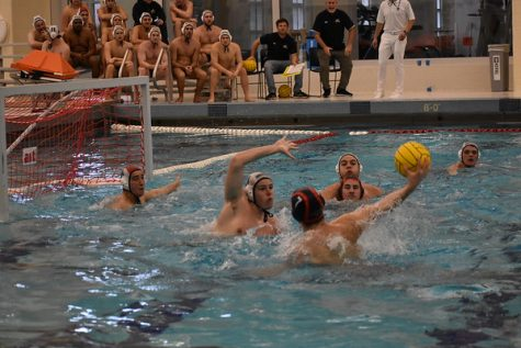 Men's water polo clinches first place in conference play