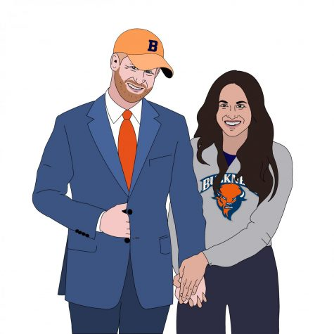 """Megxit"" brings Royal Couple to campus"