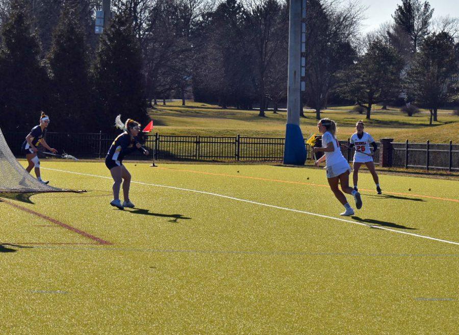 Women's lacrosse drops heartbreaker to La Salle