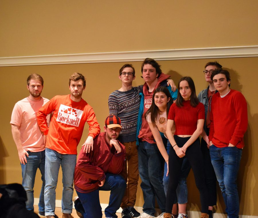 'We Brake for Nobody' improv group performs show at Trout Auditorium