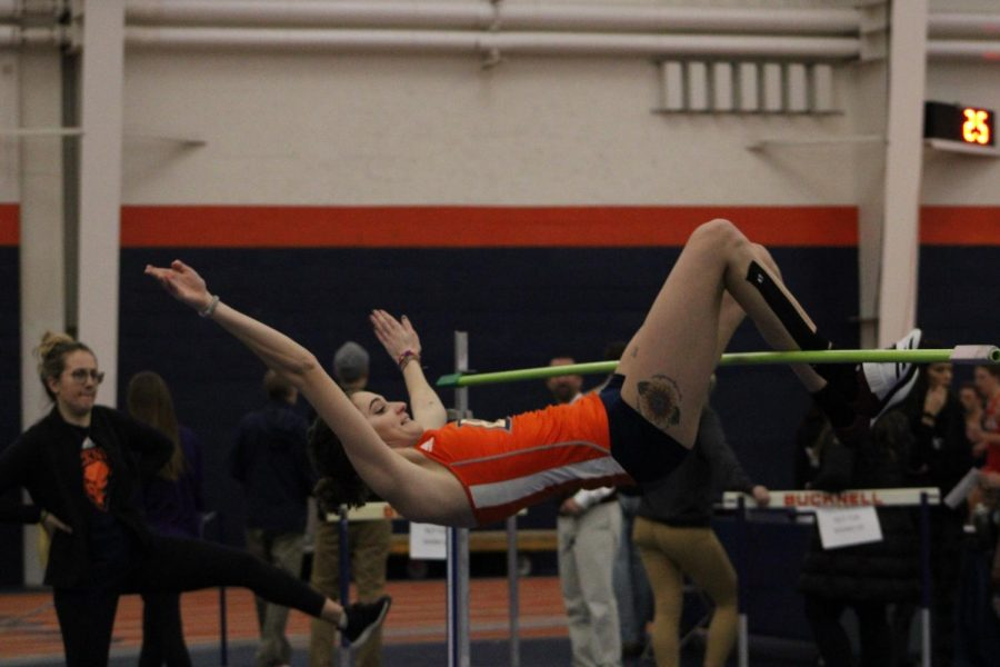 Women's track and field runs the distance in Lewisburg and Happy Valley