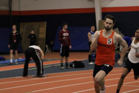 Men's track and field posts strong finishes at two-day meets