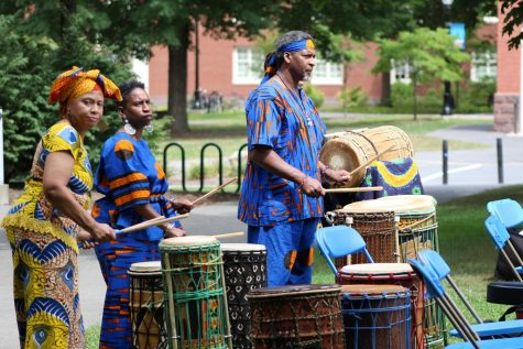 Drumming to the beat of West African history