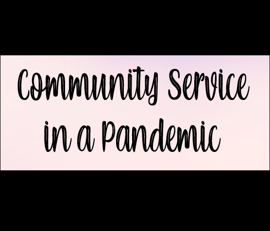 Community service in a pandemic