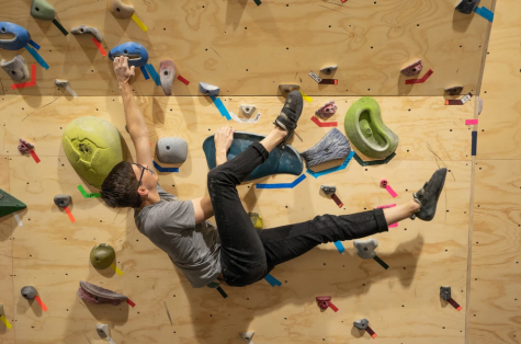 Climbing Wall open for University students