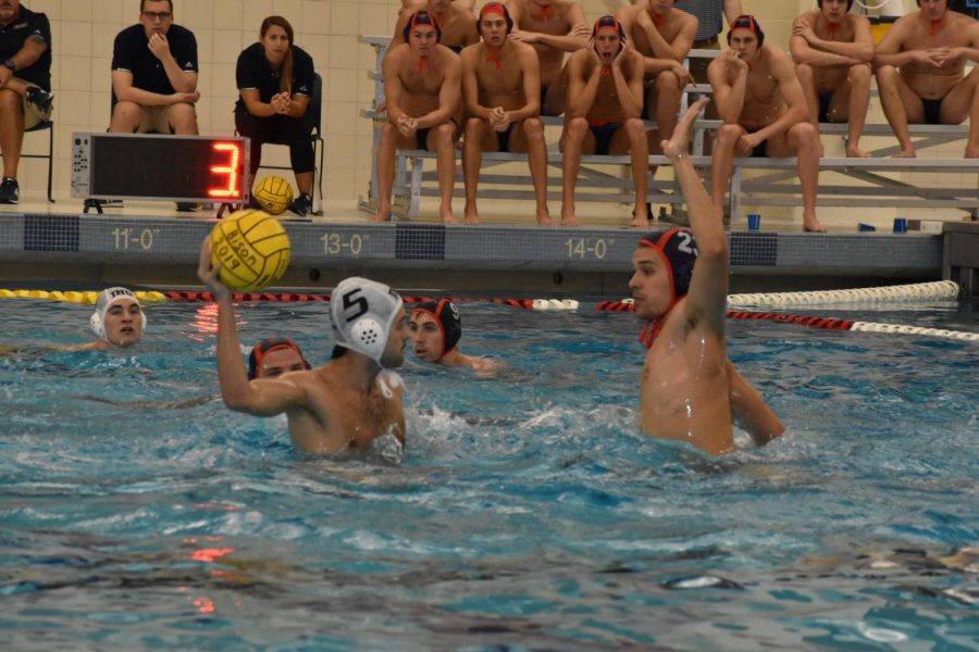 Men's water polo splits season opening games against Naval Academy