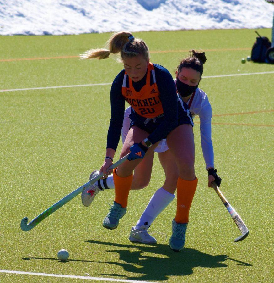 Field hockey falls short to Colgate