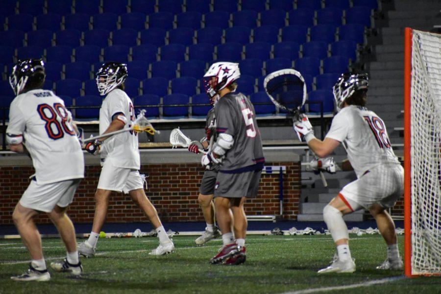 Men's Lacrosse falls to Robert Morris, 8-7