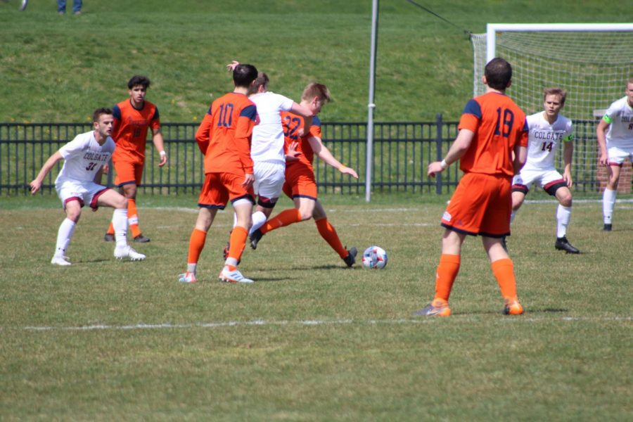 Men's soccer ties with Colgate