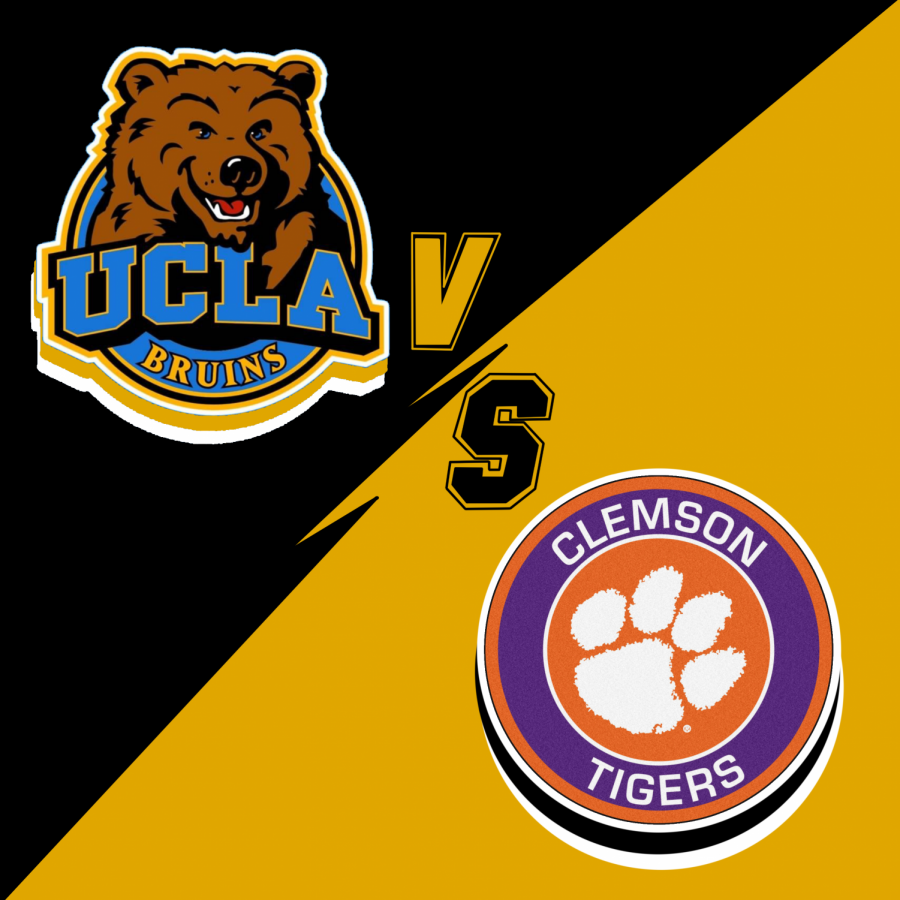 The storied UCLA versus the newest Clemson Tigers