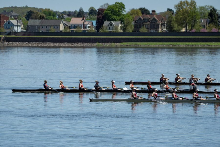 Bison women's rowing enjoy undefeated weekend