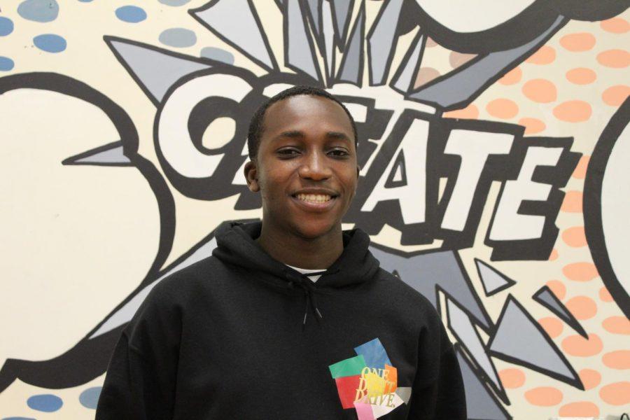Senior who excelled in the arts: Kelvin Adjei-Akosah