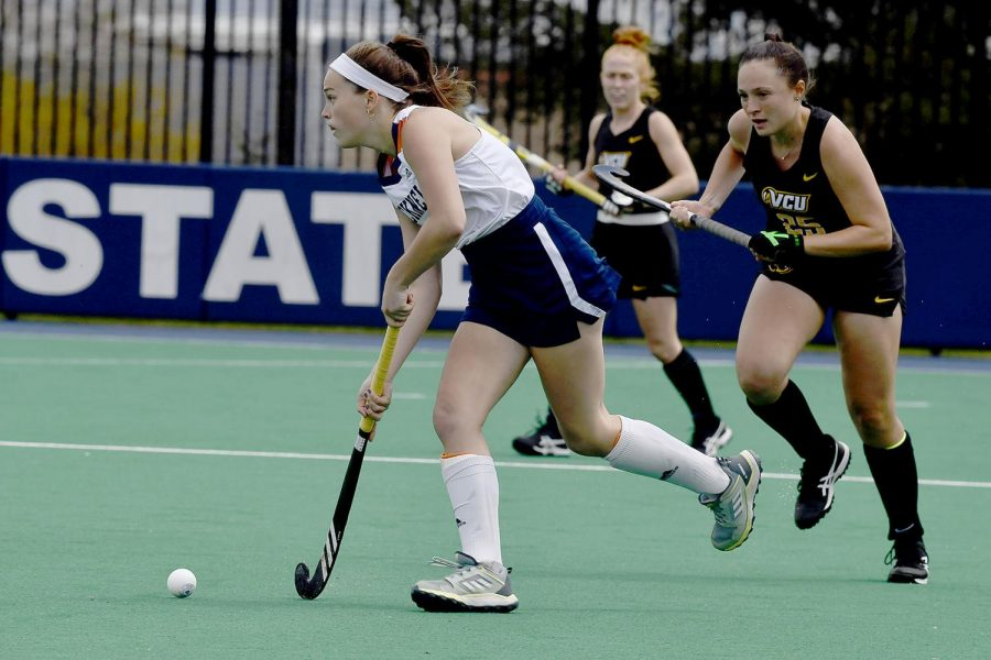 Bison field hockey makes history