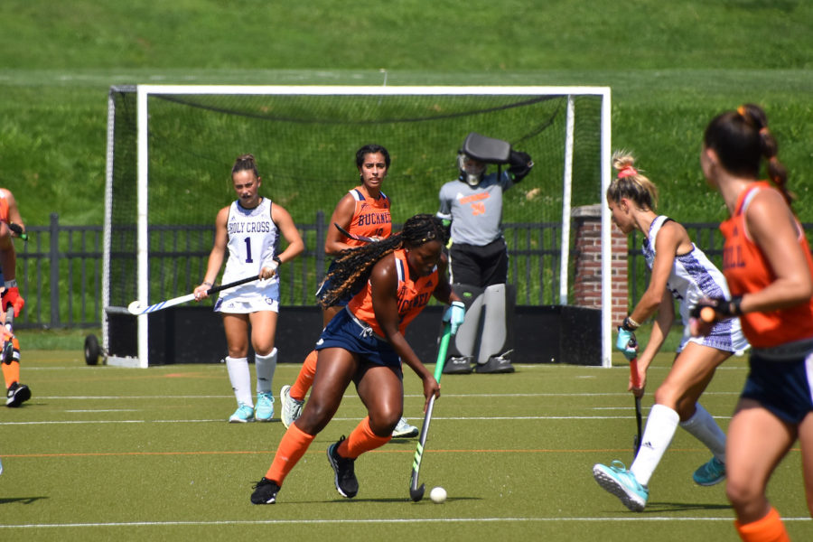 Two-win weekend for Bison Field Hockey