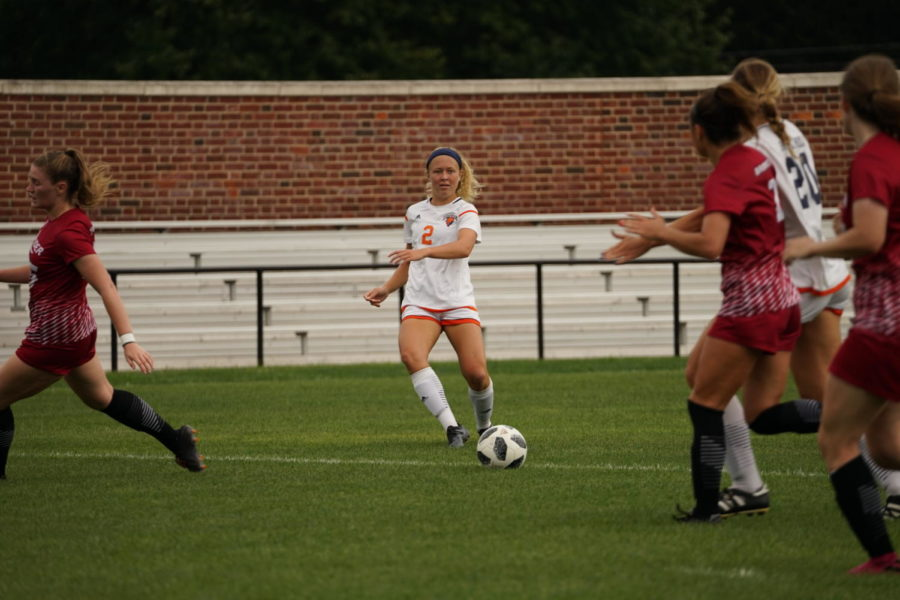 Bison Women's Soccer finishes a tough weekend 1-1
