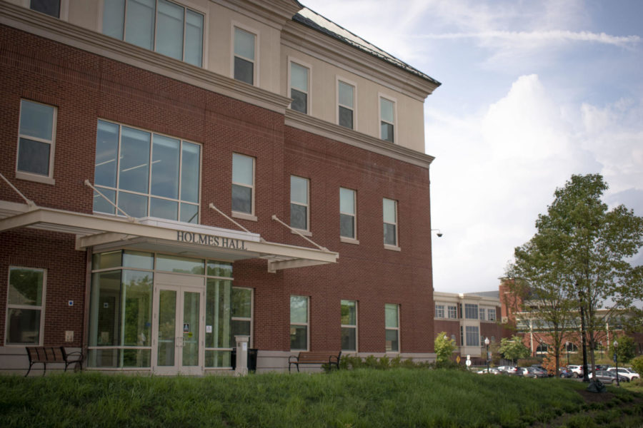The University has opened its latest addition: Holmes Hall